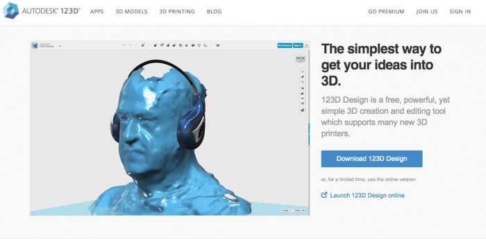 3Dプリンター用STLデータが誰でも簡単に作れる。フリーの3DモデリングソフトAutodesk123D