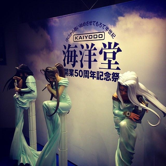 海洋堂50年の歴史がわかる展示会が京阪百貨店にて開催中