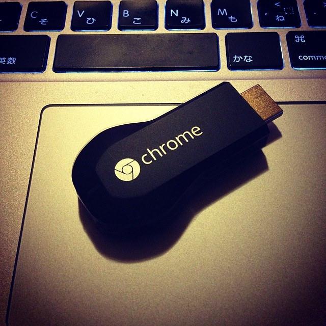 chromecast、ながら作業には便利だね