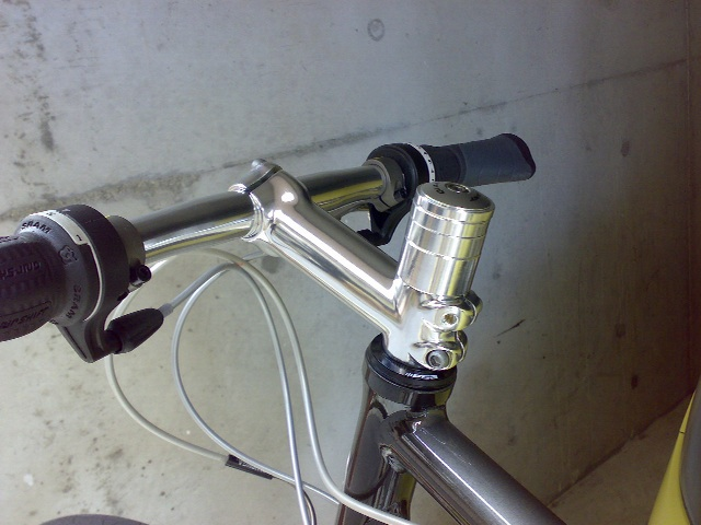 ESCAPE R3 ハンドル高調整