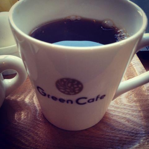 GreenCafeでモーニング