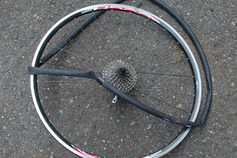 自転車の 自転車 パンク 原因 リム : ... パンク性と衝撃吸収性に優れた